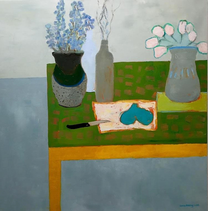 Anne Harney 'Bluebells and Pears' tiny