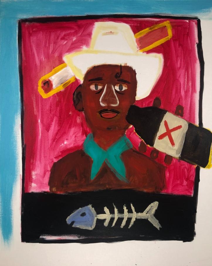 wilson demetrius life sentence_acrylic on canvas_24x30